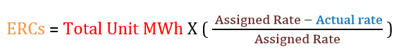 ERCs equation