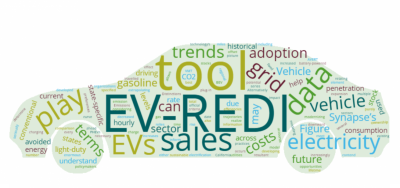 EV-REDI tool word cloud