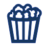 movie popcorn icon