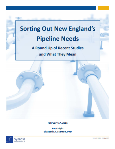 Sorting Out New England's Pipeline Needs